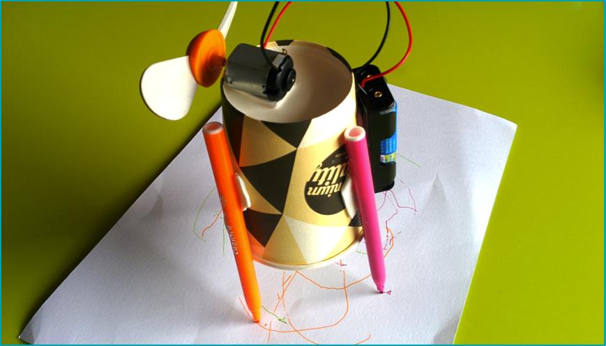 El Robot Pintor · Drawbot